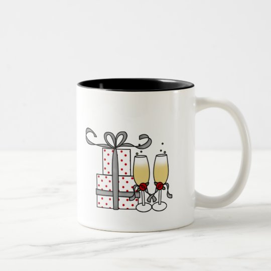 Champagne and Gifts Mug