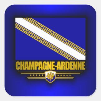 Champagne-Ardenne Square Sticker