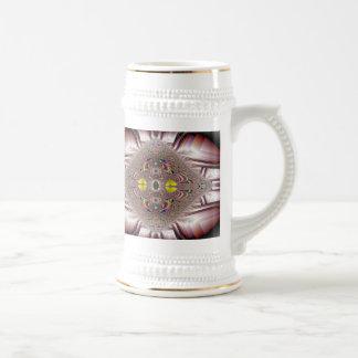 champagne broach fractal art mug