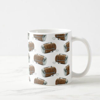 Champagne Cork Polka Dot Pattern Coffee Mug