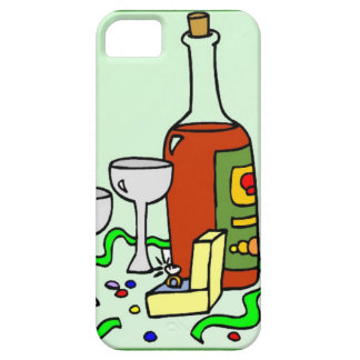 Champagne for the engagement party iPhone 5 cover
