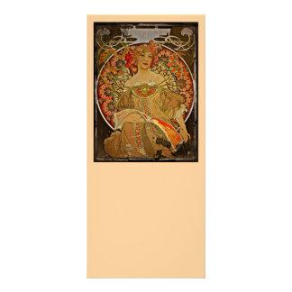 Champagne Girl 1897 Rack Card