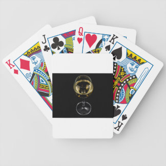 champagne glass bicycle playing cards