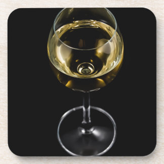 champagne glass coaster