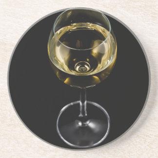 champagne glass coaster