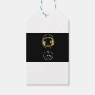 champagne glass gift tags