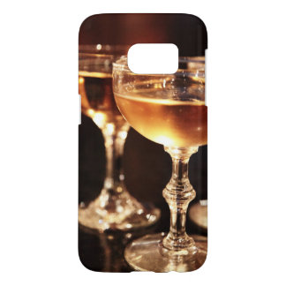 champagne glass golden toast