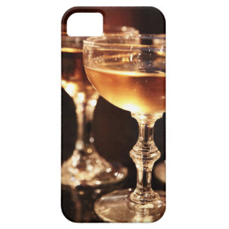 champagne glass golden toast iPhone 5 covers