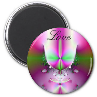 Champagne Glass Love Magnet