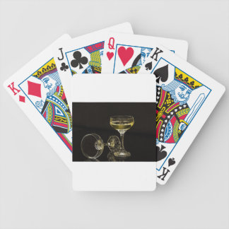 champagne glasses bicycle playing cards