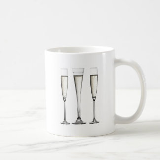 Champagne Glasses Coffee Mug