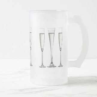 Champagne Glasses Frosted Glass Beer Mug