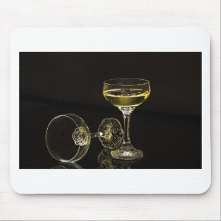 champagne glasses mouse pad