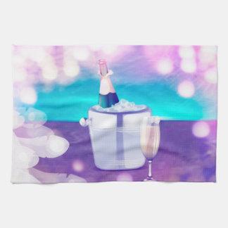 Champagne Kitchen/Hand Towl Tea Towel