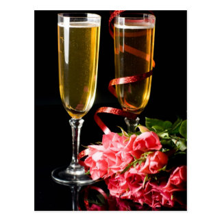 champagne knell post card