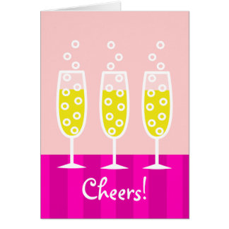 Champagne Notecard
