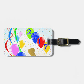 Champagne Party 2017 Luggage Tag
