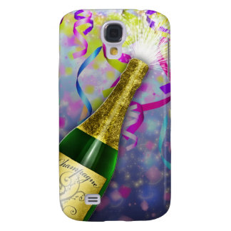 Champagne Party Happy New Year Galaxy S4 Covers