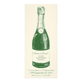 Champagne Personalized Label Invitation