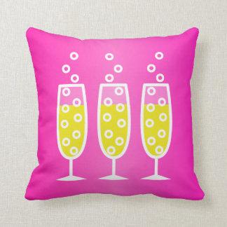 Champagne - pink cushion
