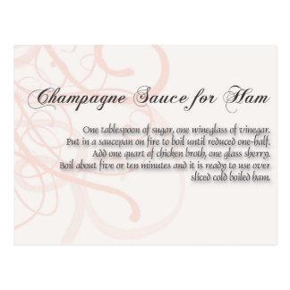 Champagne Sauce for Ha, Postcard