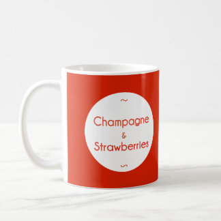 Champagne & Strawberries Coffee Mug