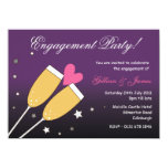 Champagne Toast Engagement Party Invitation 2