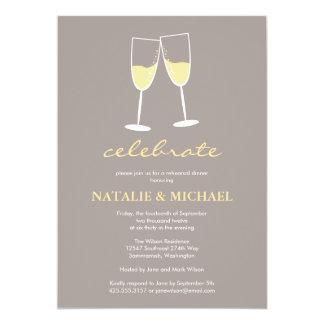 Champagne Toast Invitation