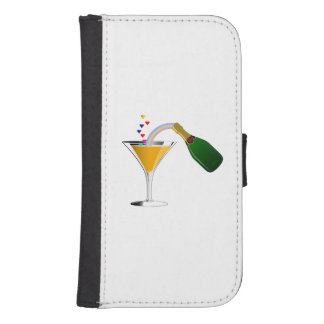 Champagne Toast Phone Wallet
