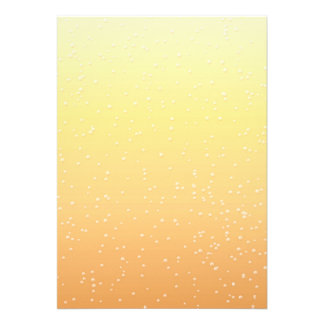 Champagne with Tiny Bubbles Background Art Announcement
