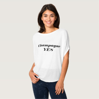 Champagne YES T-Shirt