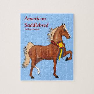 Champion American Saddlebred Puzzle