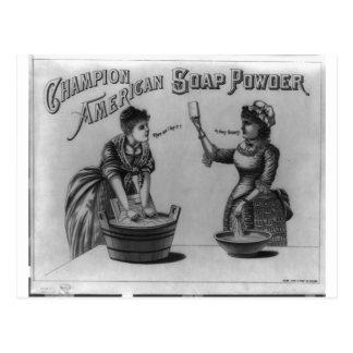 Champion American Soap Powder 1887 Postcards