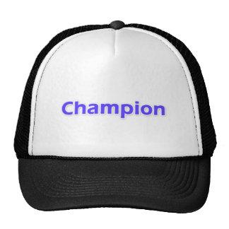 Champion Trucker Hats