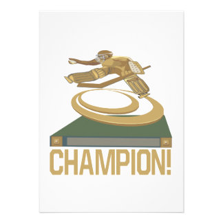 Champion Custom Announcements