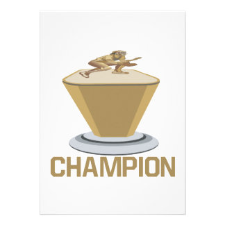 Champion Custom Announcement