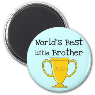 Champion Little Brother T-shirts and Gifts 6 Cm Round Magnet