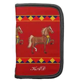 Champion Saddlebred Custom Rickshaw Folio Folio Planner