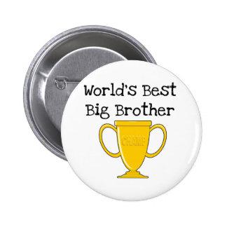 Champion World's Best Big Brother 6 Cm Round Badge