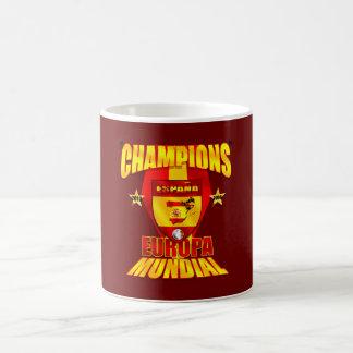 Champions Europa 2008 Mundial 2010 Coffee Mug