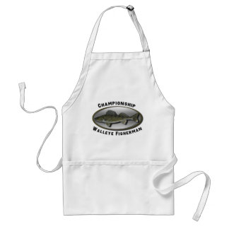 Championship Walleye Fisherman Standard Apron