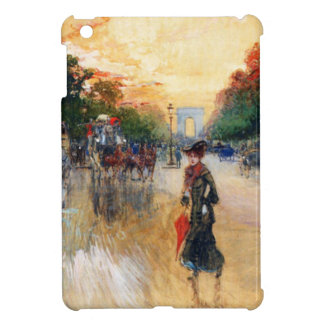 Champs-Elysees where the traffic density is many iPad Mini Covers