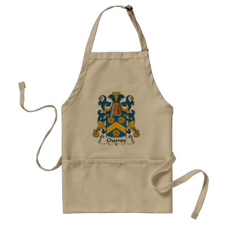 Champs Family Crest Standard Apron
