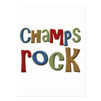 Champs Rock Postcards
