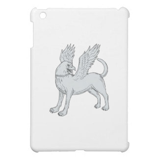 Chamrosh Side Drawing iPad Mini Cases