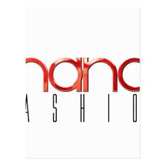 Chance Fashion Postcard