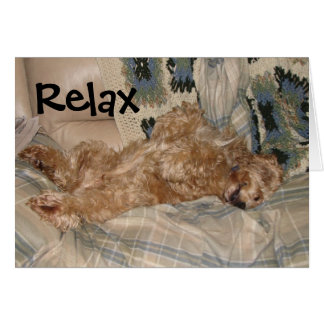 Chance Relax Card