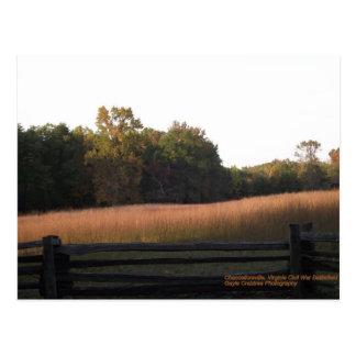 Chancellorsville, Virginia Postcard