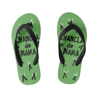 Chanclas de Mama Flip Flops, Kids Kid's Thongs