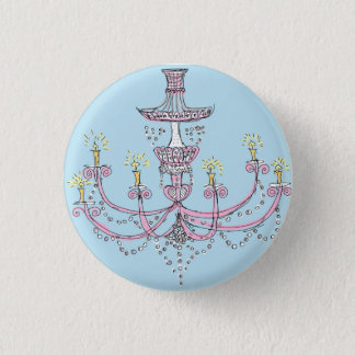 Chandelier 3 Cm Round Badge